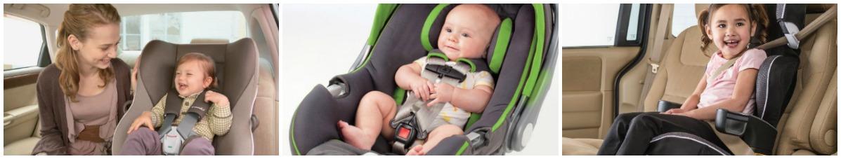 ghế ngồi ô tô hiện đại cho bé