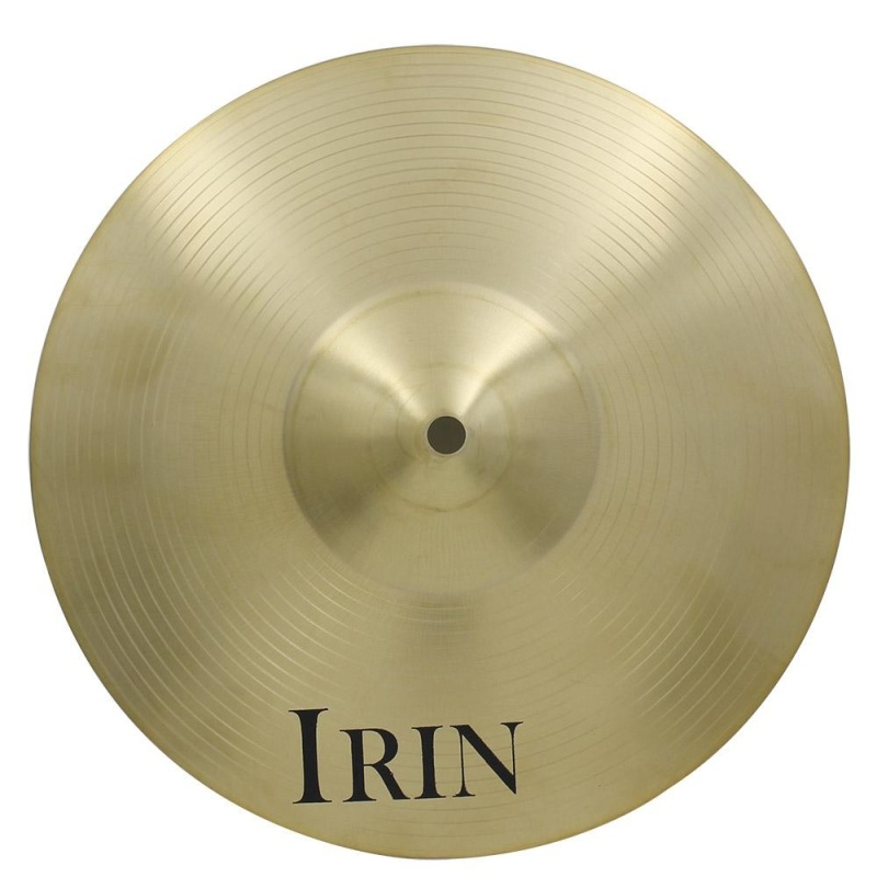 "16"" Brass Alloy Crash Ride Hi-Hat Cymbal for Drum Set - intl"