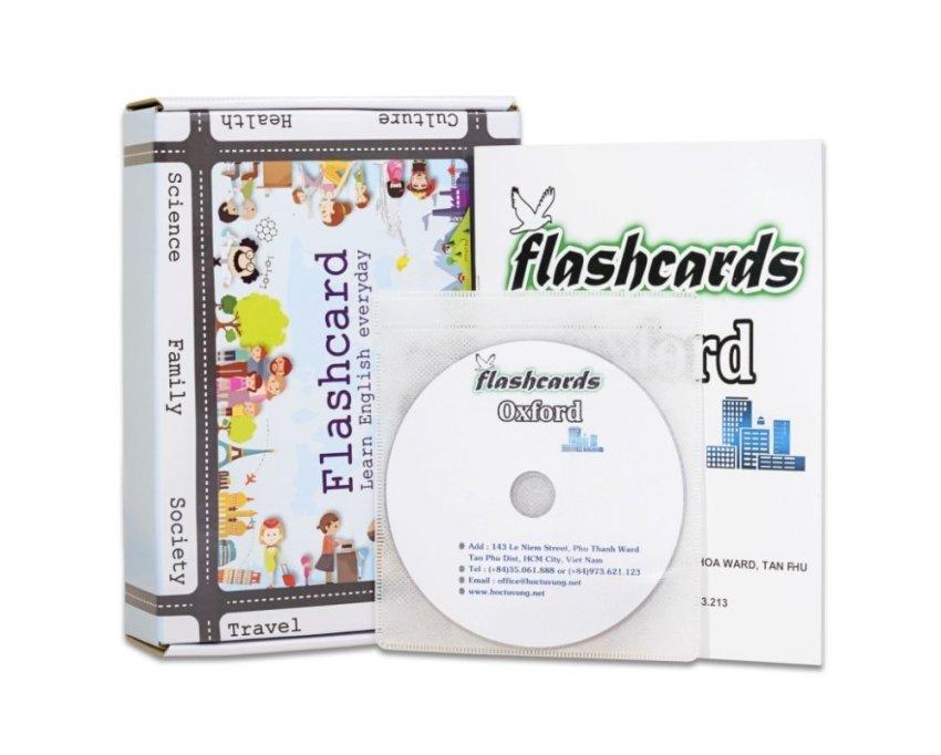 20 bộ Flashcard luyện thi IELTS chất lượng cao kèm dvd và sách hướng dẫn (Z02CD)