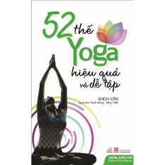 52 thế yoga hiệu quả và dễ tập