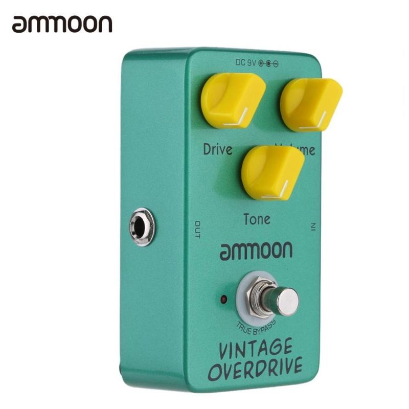 ammoon AP-01 Vintage Overdrive Guitar Effect Pedal True Bypass - intl