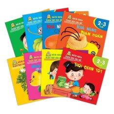 Bách khoa toàn thư cho bé 2 - 3 tuổi (Trọn bộ 8 cuốn) - Nhiều tác giả