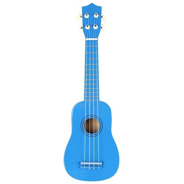 Beginners Ukulele Uke Mahalo Style Ukelele Soprano Ukulele Musical Instrument Blue - Intl