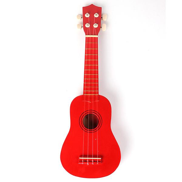 Beginners Ukulele Uke Mahalo Style Ukelele Soprano Ukulele Musical Instrument Red - Intl