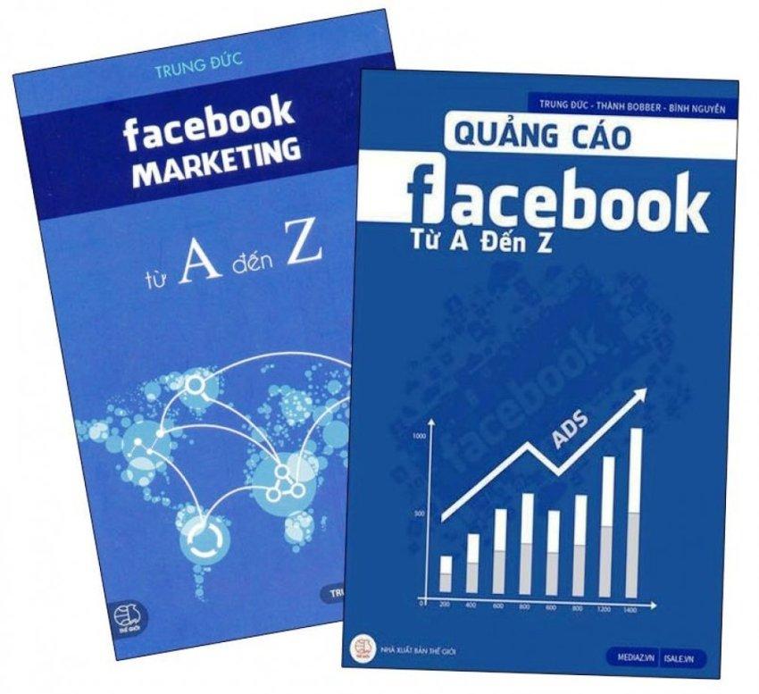 Bộ 2 cuốn Sách Về Facebook Marketing Từ A-Z - Trung Đức và Thành Bobber và Bình Nguyễn