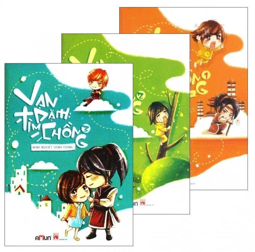 Bộ 3 tập Vạn Dặm Tìm Chồng - Minh Nguyệt Thính Phong và Lam Nguyệt