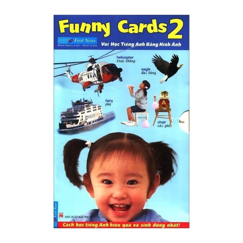Bộ Funny Cards 2 - Vui Học Tiếng Anh Bằng Hình Ảnh - Nhóm tác giả