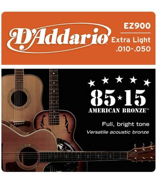 Dây đàn guitar acoustic D'addario EZ900