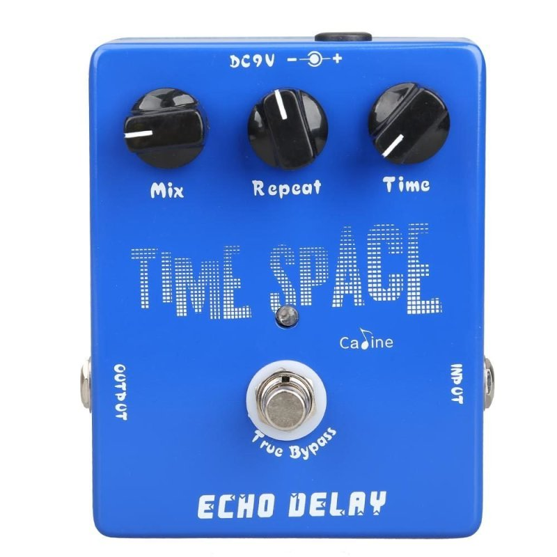 Delay Guitar Pedals CP-17 Echo Delay True Bypass Blue 600ms Max - intl
