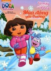 Dora The Explorer - Mùa Đông Yêu Thương (Tô Màu Sáng Tạo Cùng Dora) - Nhiều Tác Giả,Hương Giang
