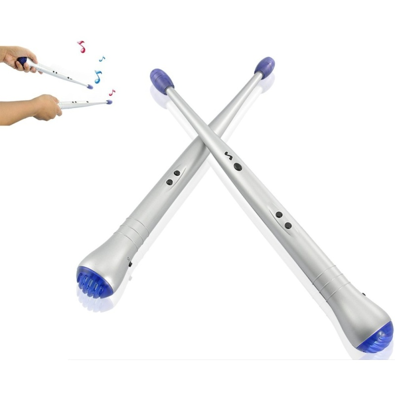 Electronic Drum Sticks Air drumstick Novelty toy - intl