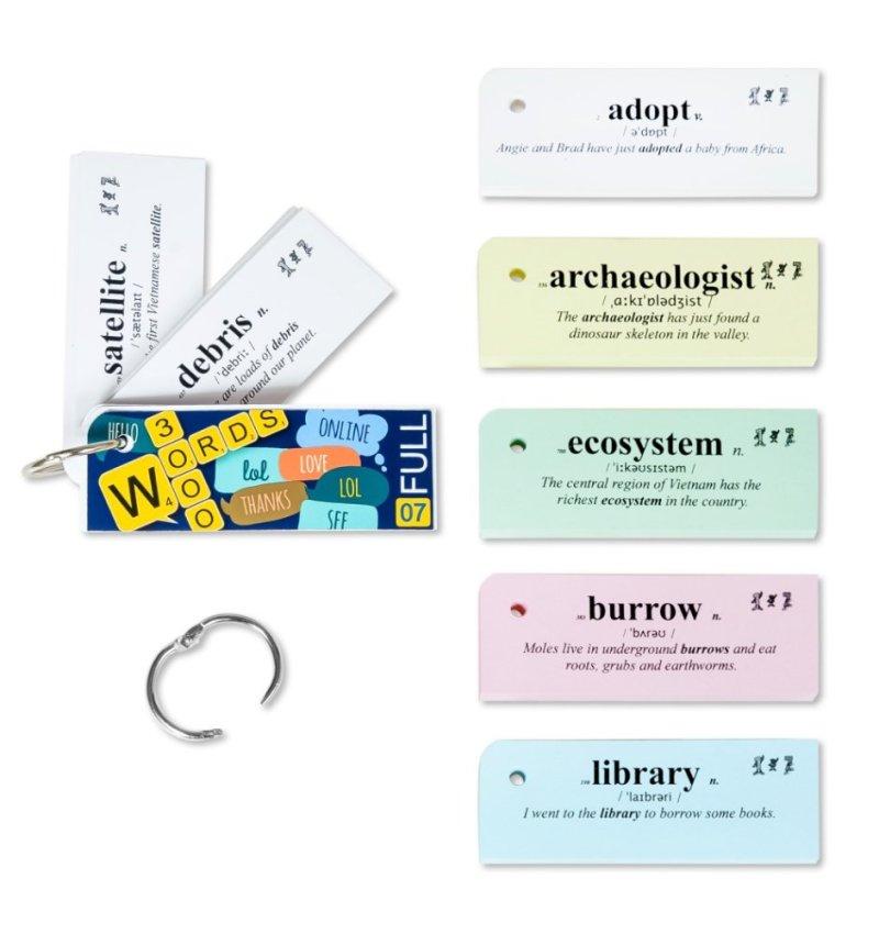 Flashcard Oxford 3000 từ Tiếng Anh thông dụng nhất của Oxford(mã 07A)