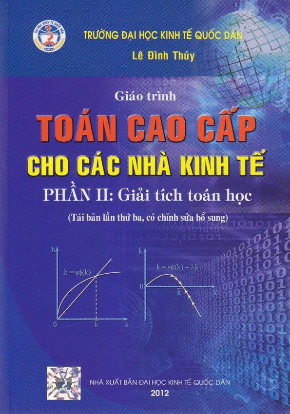 Giáo trình toán cao cấp cho các nhà kinh tế
