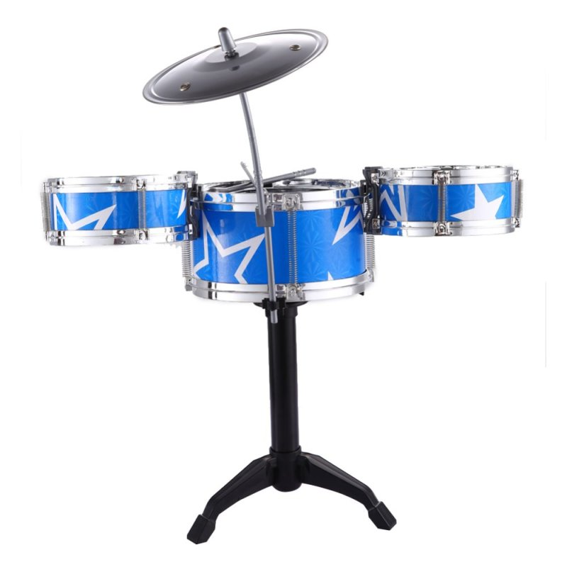 Jazz Drum Kids Early Education Toy Percussion Instrument Great Gift - intl