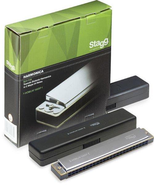 Kèn harmonica tremolo 24 lỗ Stagg