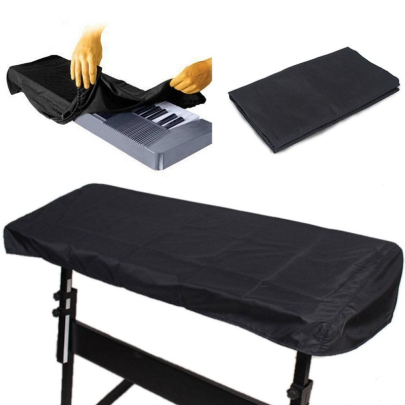 Keyboard Dust Cover For 61 Key Piano Dustproof Storage Bag On Stage Dustcover - intl