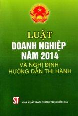 Luật Doanh Nghiệp Năm 2014 và nghị định hướng dẫn thi hành