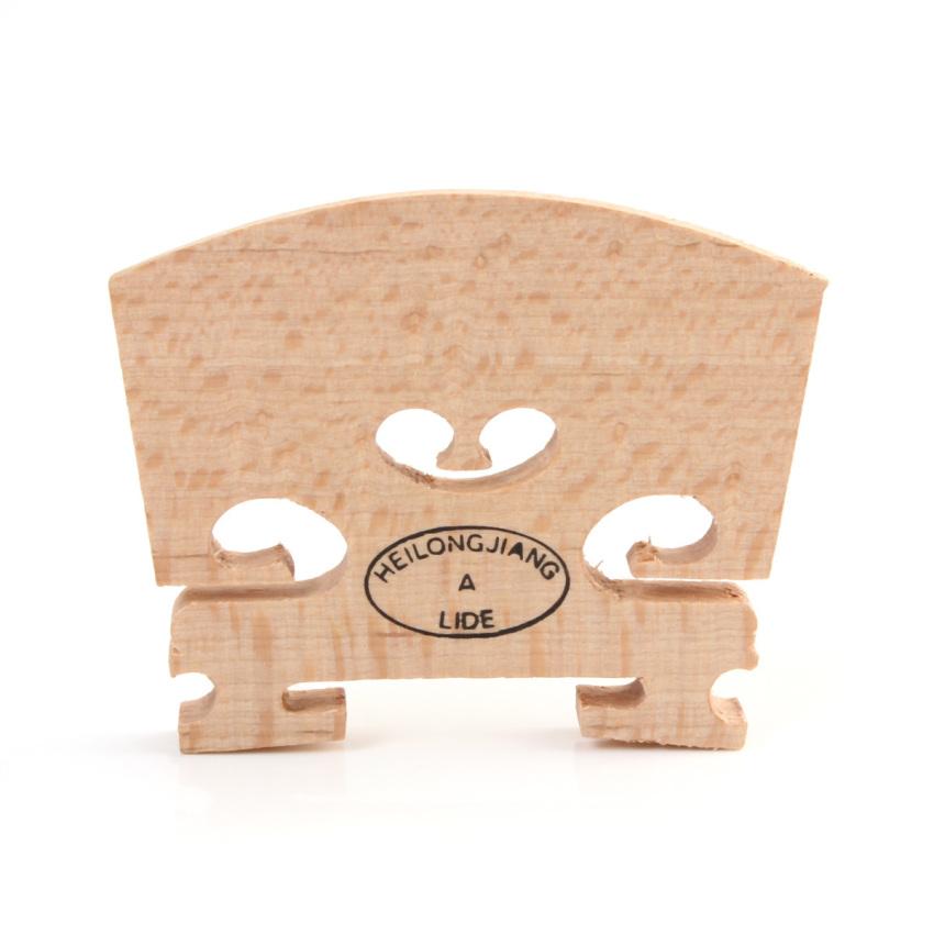Maple Violin Bridge Regular Type 1/2 Size - Intl