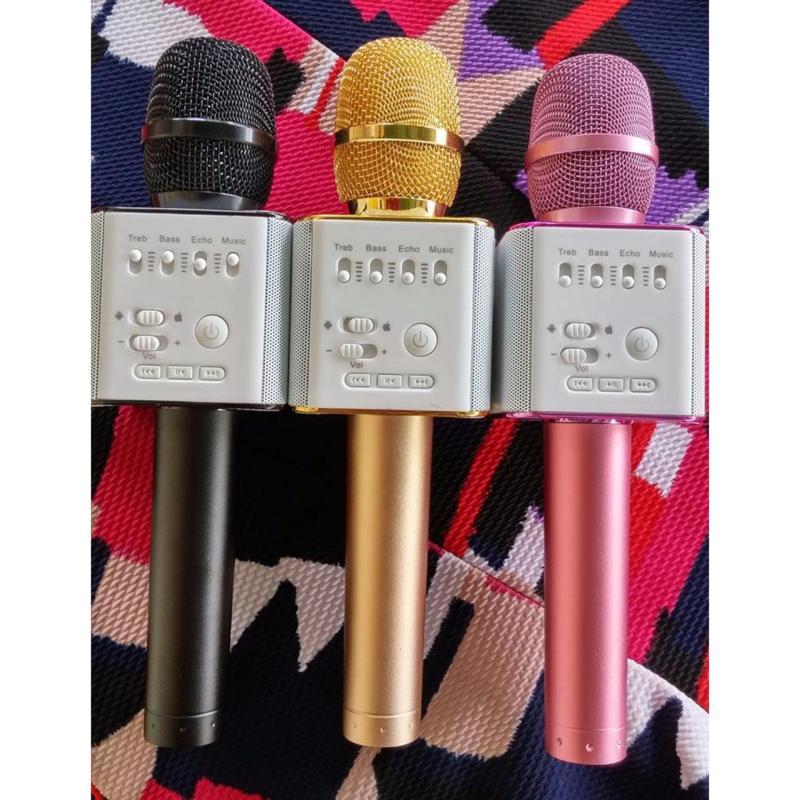 Micro karaoke bluetooth Micgeek Q9 ( Màu đen, màu gold)