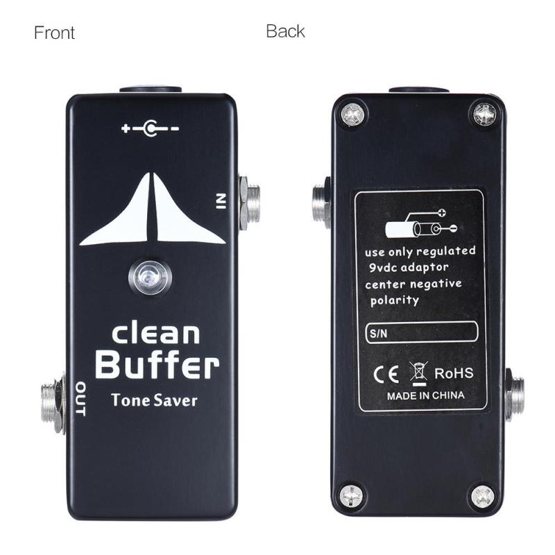 Mini Clean Buffer Guitar Effect Pedal Tone Saver Zinc-aluminium Alloy Body - intl