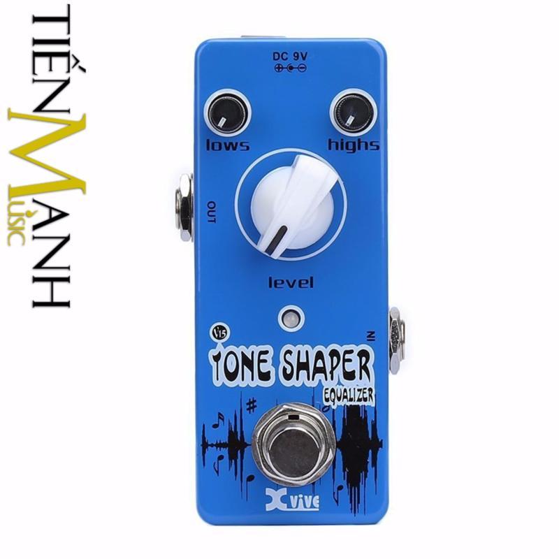 Phơ Guitar Xvive Analog Tone Shaper V15 (Có Nguồn xịn đi kèm - Bàn đạp Fuzz Pedals Effects)