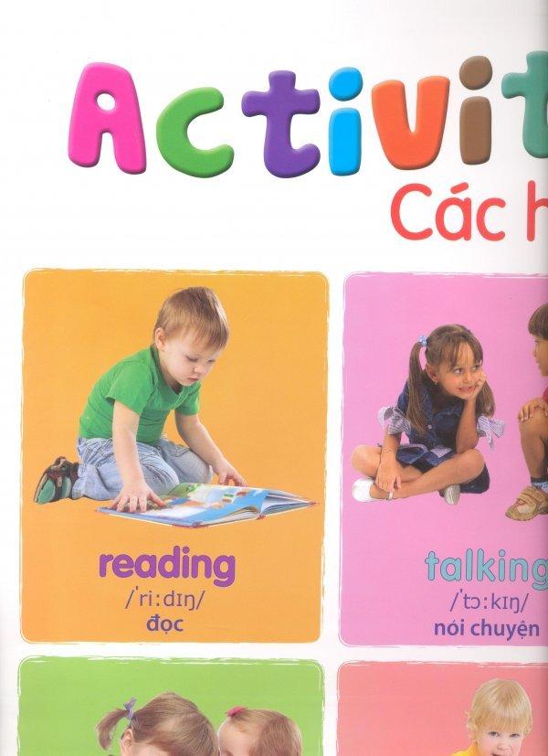 Poster Activities - Các Hoạt Động Thông Dụng - First News