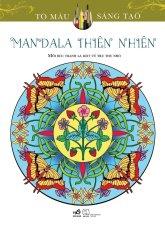 Sách tô màu dành cho người lớn Mandala Thiên Nhiên – Marty Noble