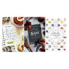 Trọn Bộ 3 Cuốn Nhật Ký Học Làm Bánh