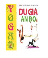 Yoga cho mọi người - Du già Ấn Độ + DVD