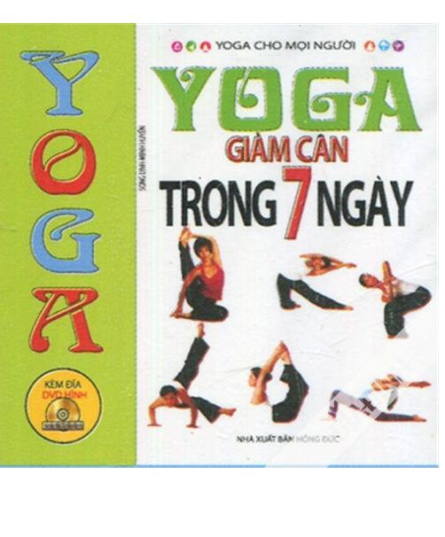 Yoga giảm cân trong 7 ngày + DVD