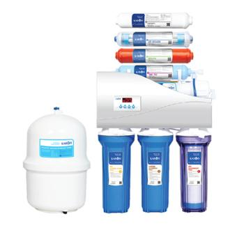 Máy lọc nước Karofi thông minh iRO 1 1 8 cấp bình áp nhựa lõi thép tủ IQ