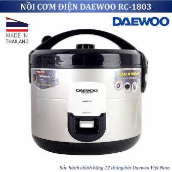 Nồi cơm điện Daewoo RC 1803 1 8L