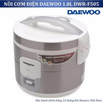 Nồi cơm điện Daewoo DWR F505 1 8L