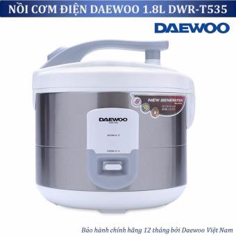 Nồi cơm điện Daewoo DWR T535 1 8L