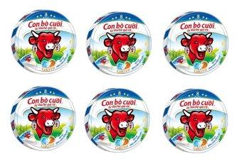 Bộ 6 Hộp Phô mai con bò cười 8 miếng x 6 hộp