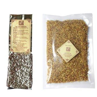 Bộ đôi trà Ngọc Thúy Mộc mạch Bạch Hạc Trà