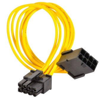 8-Pin PCIE Power Extension Cable for Video Card PCI-Express PCI-E5X - intl
