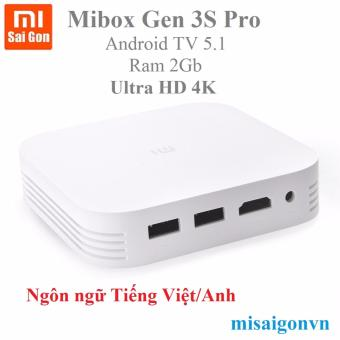 Android tivi box mibox gen 3s pro