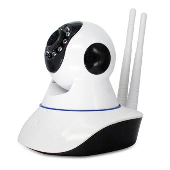 Camera IP không dây xoay 360 đô quan sa t nga y đêm Yoosee Trắng
