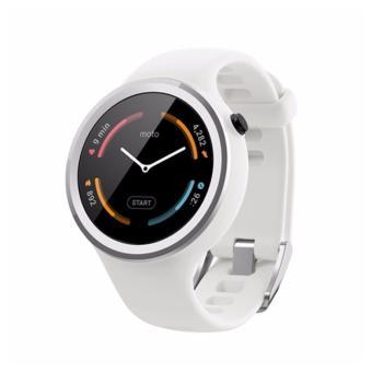 Đồng hồ thông minh Motorola Moto 360 2nd Gen 42mm Sport Trắng Hàng nhập khẩu
