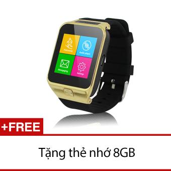 Đồng hồ thông minh Smartwatch ZGPAX S29 Vàng Tặng 1 thẻ nhớ 8GB