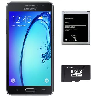 Bộ 1 Samsung Galaxy On7 8 GB (Đen) - Hàng nhập khẩu + 1 Pin dành cho On7 + 1 Thẻ Nhớ 8Gb