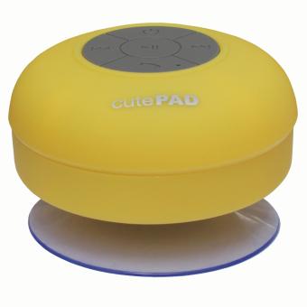 Loa bluetooth chống nước cutePAD TX BS138 Vàng Hãng phân phối chính thức