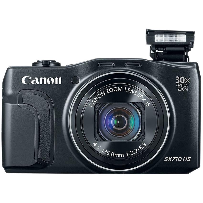 Máy Ảnh KTS Canon PowerShot SX710 HS 20MP và Zoom quang 30x (Đen) - Hàng nhập khẩu