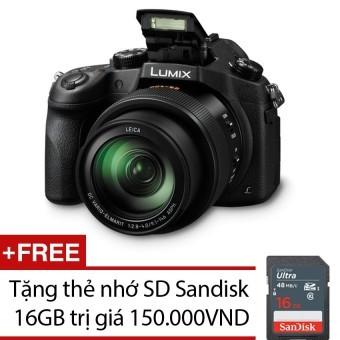 Máy ảnh KTS Panasonic Lumix DMC-FZ1000 Digital Camera 20 MP và Zoom quang 16x (Đen) + Tặng thẻ nhớ SD Sandisk 16GB