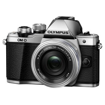 Olympus OM D E M10 Mark II 16MP với Lens kit M Zuiko 14 42mm F3 5 5 6 EZ Bạc