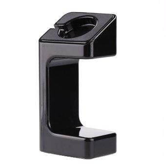 Portable Charging Stand for Apple Watch Cord Holder Docking Station Holder Black