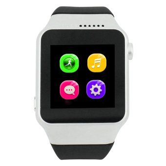 Smart Watch ZGPAX S39 TF and SIM Bluetooth Smart Phone Android Silver Intl