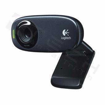 Webcam Logitech C310 960 000588 video Call HD chụp 5 megapixels có Mic chống ồn Hãng Phân Phối Chính Thức Đen