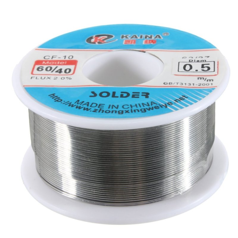0.5mm 60/40 Rosin Core Tin lead Solder Wire - Intl